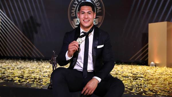 Tuivasa-Sheck wins Dally M on night of red carpet glitz