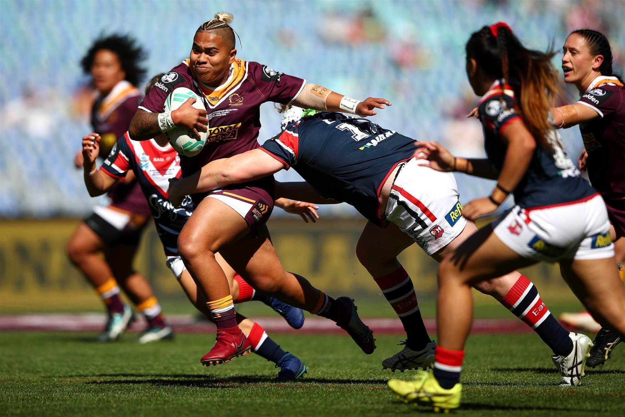 Pic special: Women's NRL Grand Final action