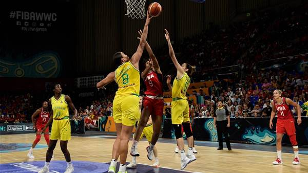 Pic special: Opals v US gold medal battle
