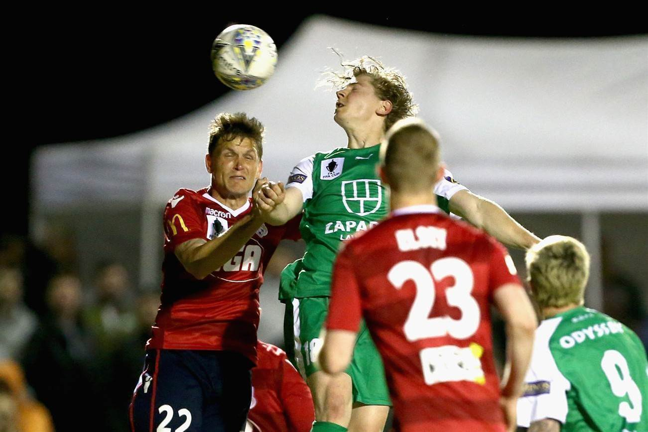 Pic special: Reds eat Greens to make FFA Cup final