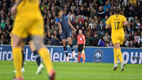 Pic special: Matildas take on France