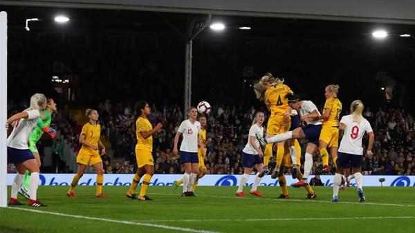 Pic special: Matildas stun England