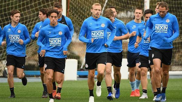 Look out Victory: Melbourne City training pics