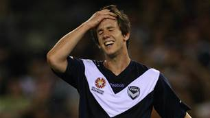 In pics: 33 Robbie Kruse moods while playing for Melbourne Victory
