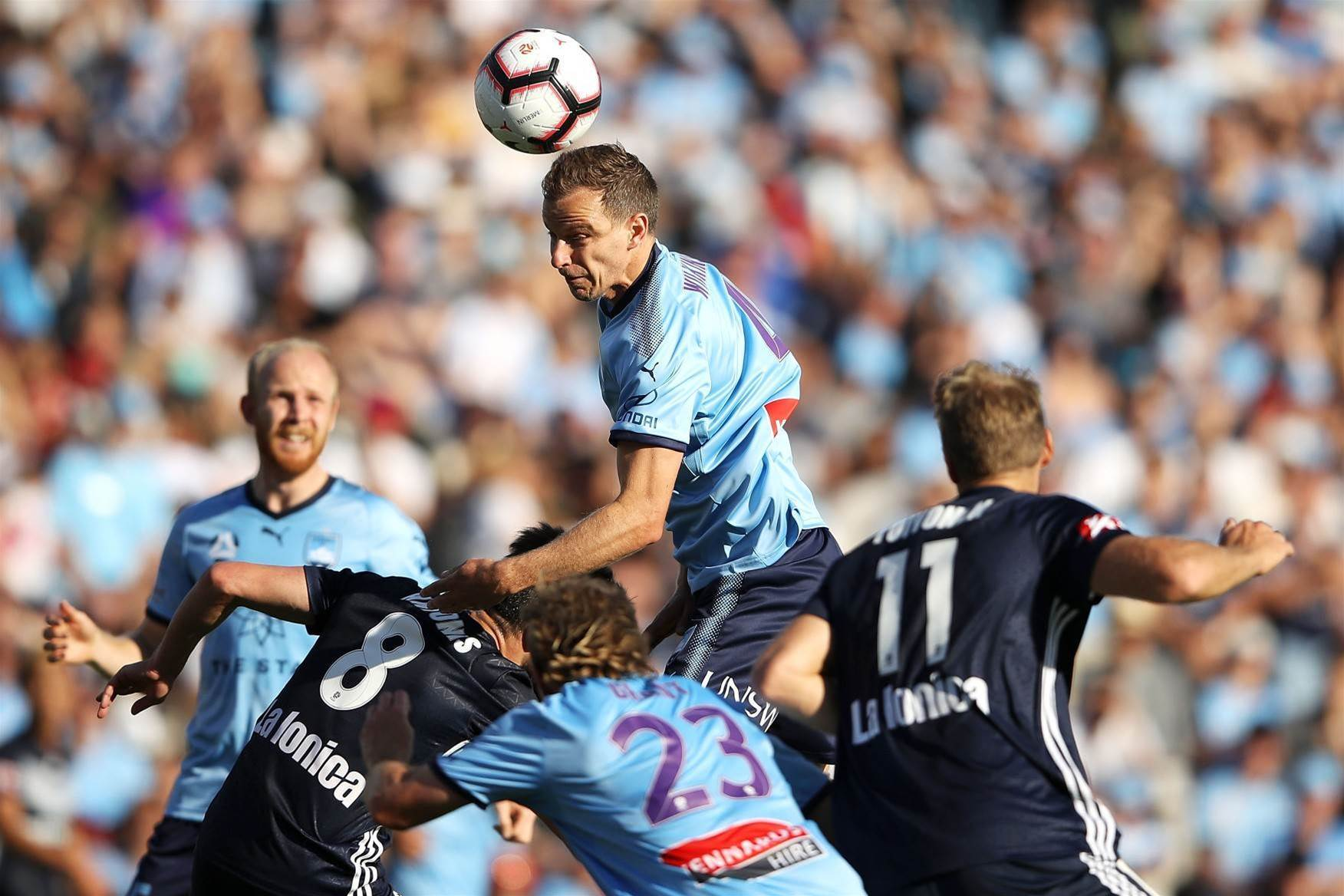 Pic special: Return of the A-League