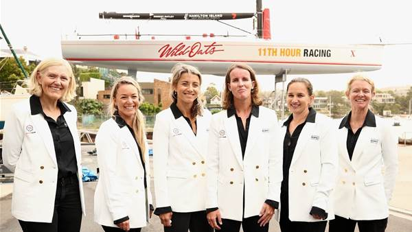 Pics: First all-pro women crew for Sydney-Hobart