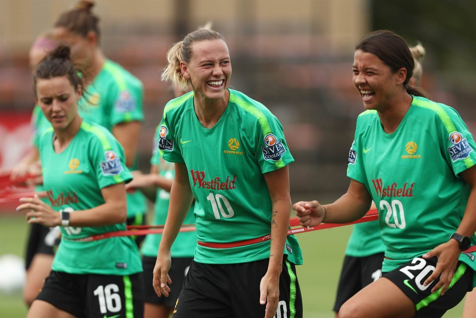 Pic special: Matildas train with Ante