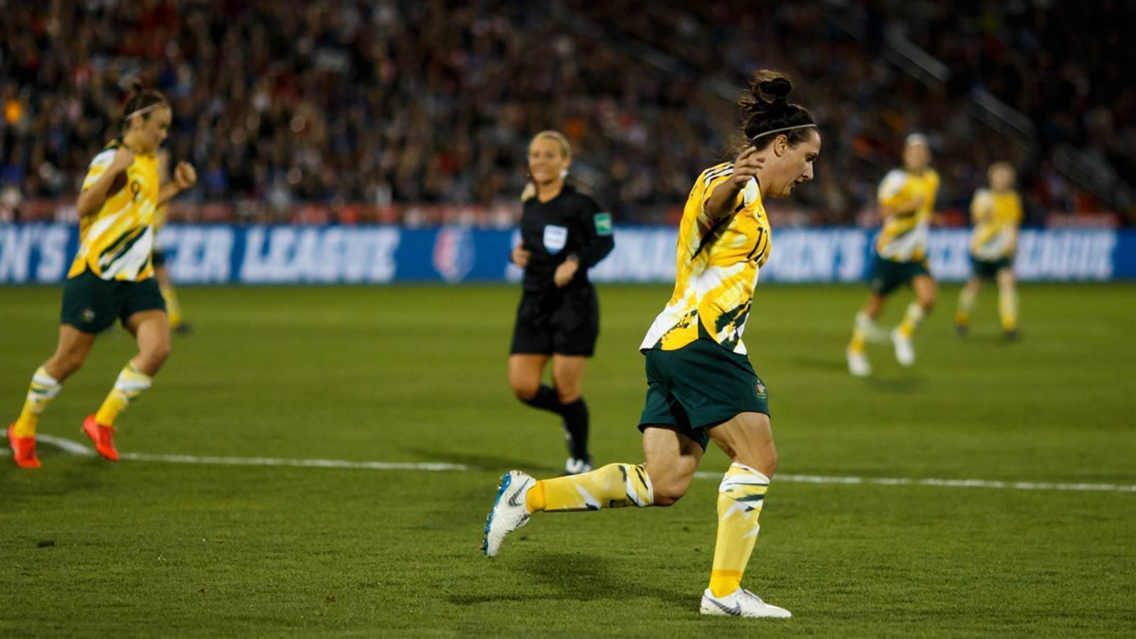 In pics: Matildas vs the USA