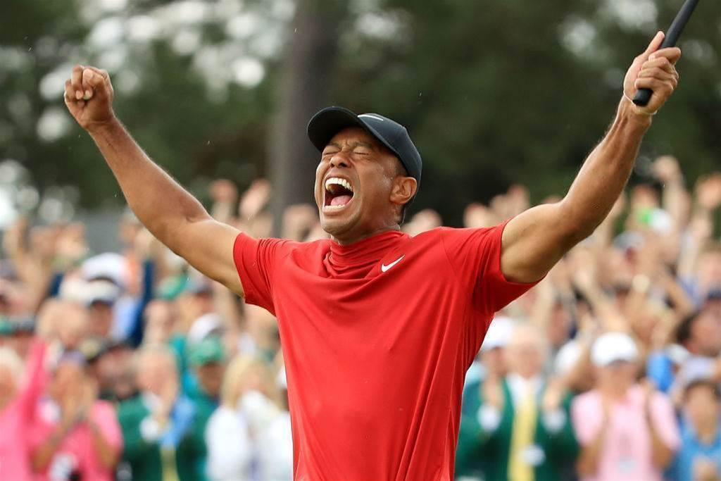GALLERY: The day Tiger made Masters history