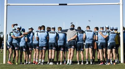 Pic special: State of Origin training