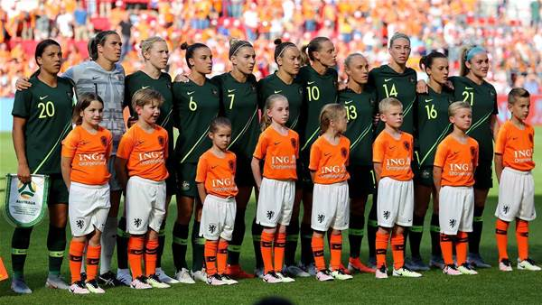 Pic special: Australia v Netherlands