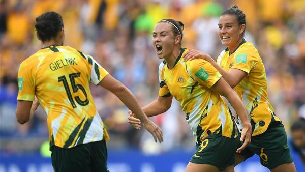 In Pics: Australia's huge win over Brazil