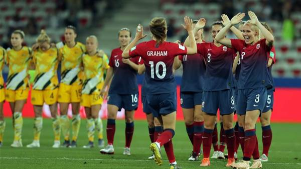 In pics: Australia fall to Norway