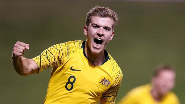 In pics: Australia U23s vs New Zealand U23s