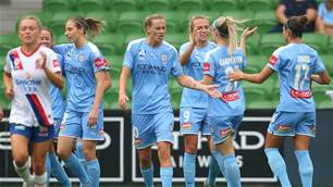 Awesome Sideline Gallery: Melbourne City vs Newcastle Jets
