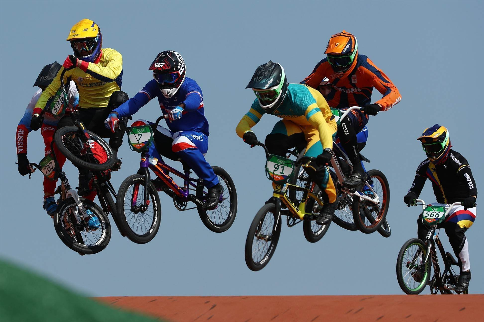 Pic special: BMX thrills