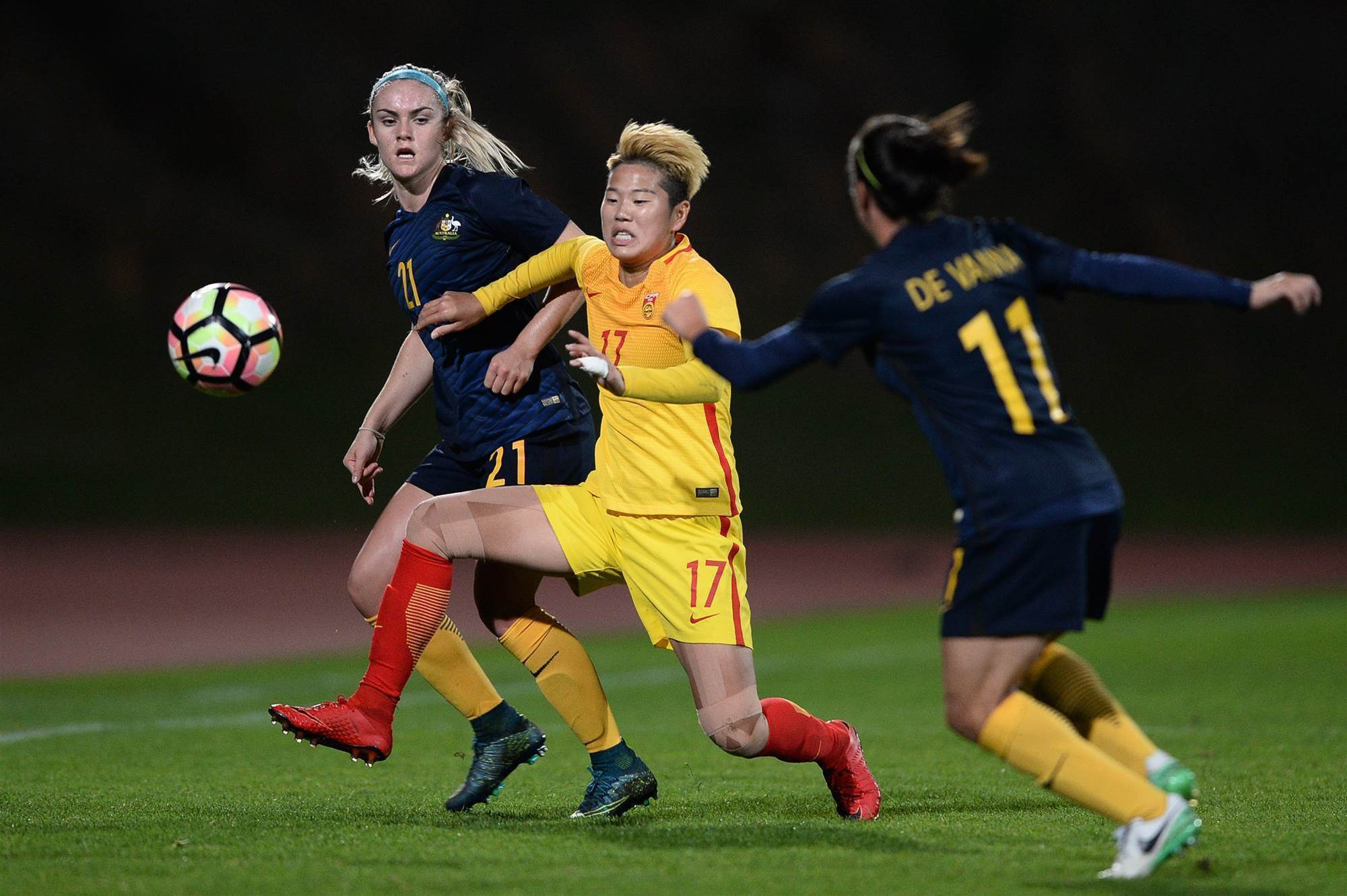 Photo gallery: Australia at the Algarve Cup