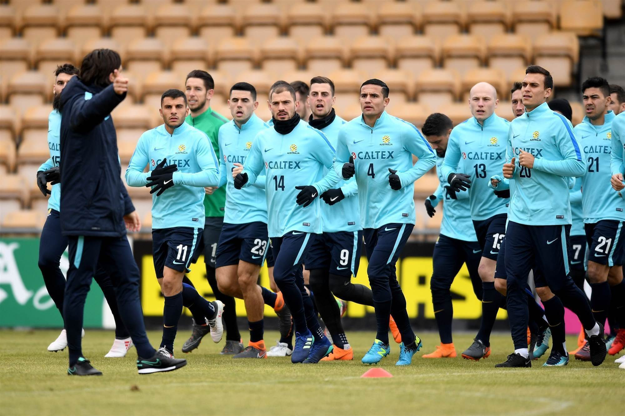 Pic special: Socceroos in Oslo