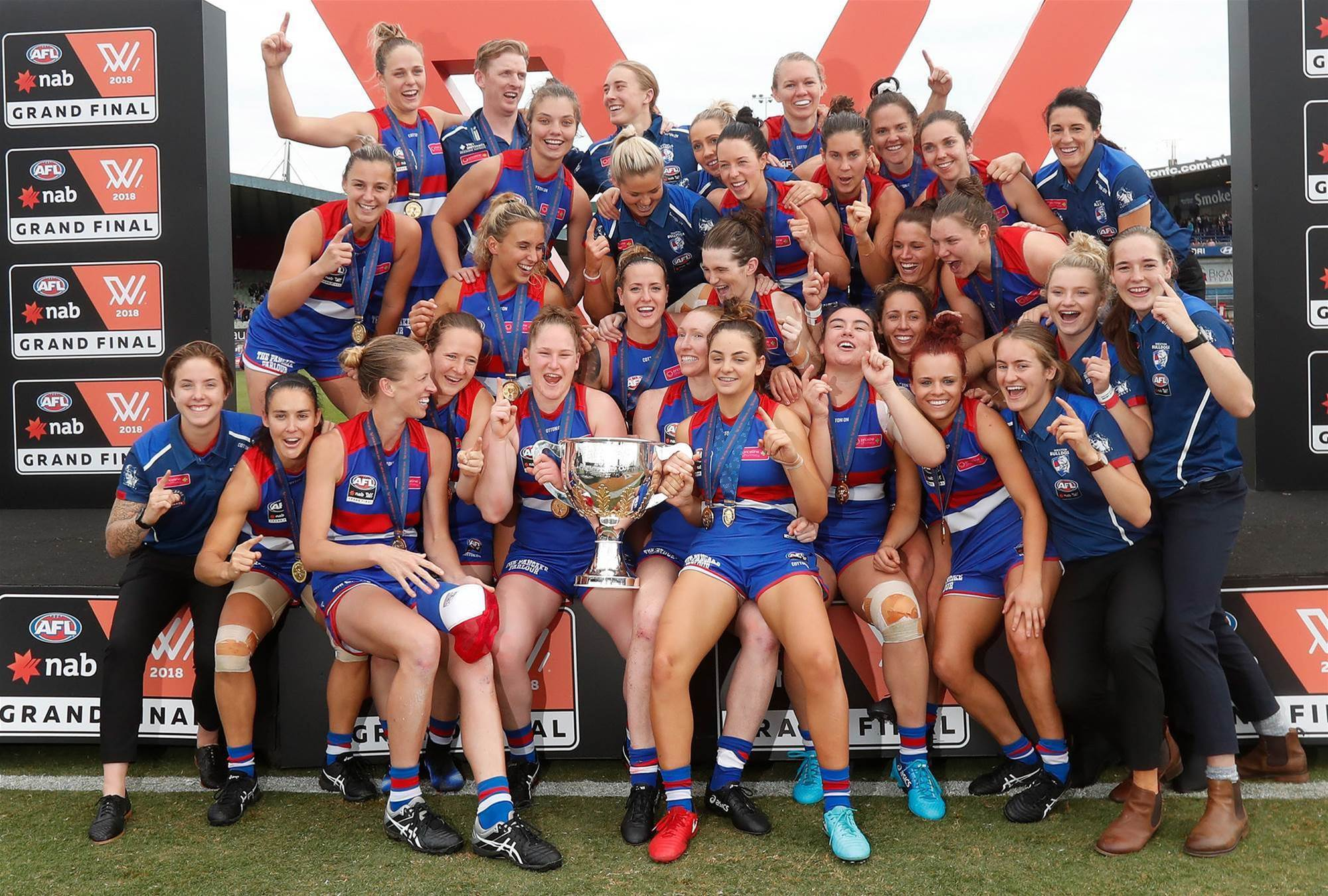 Pic special: 2018 AFLW Grand Final