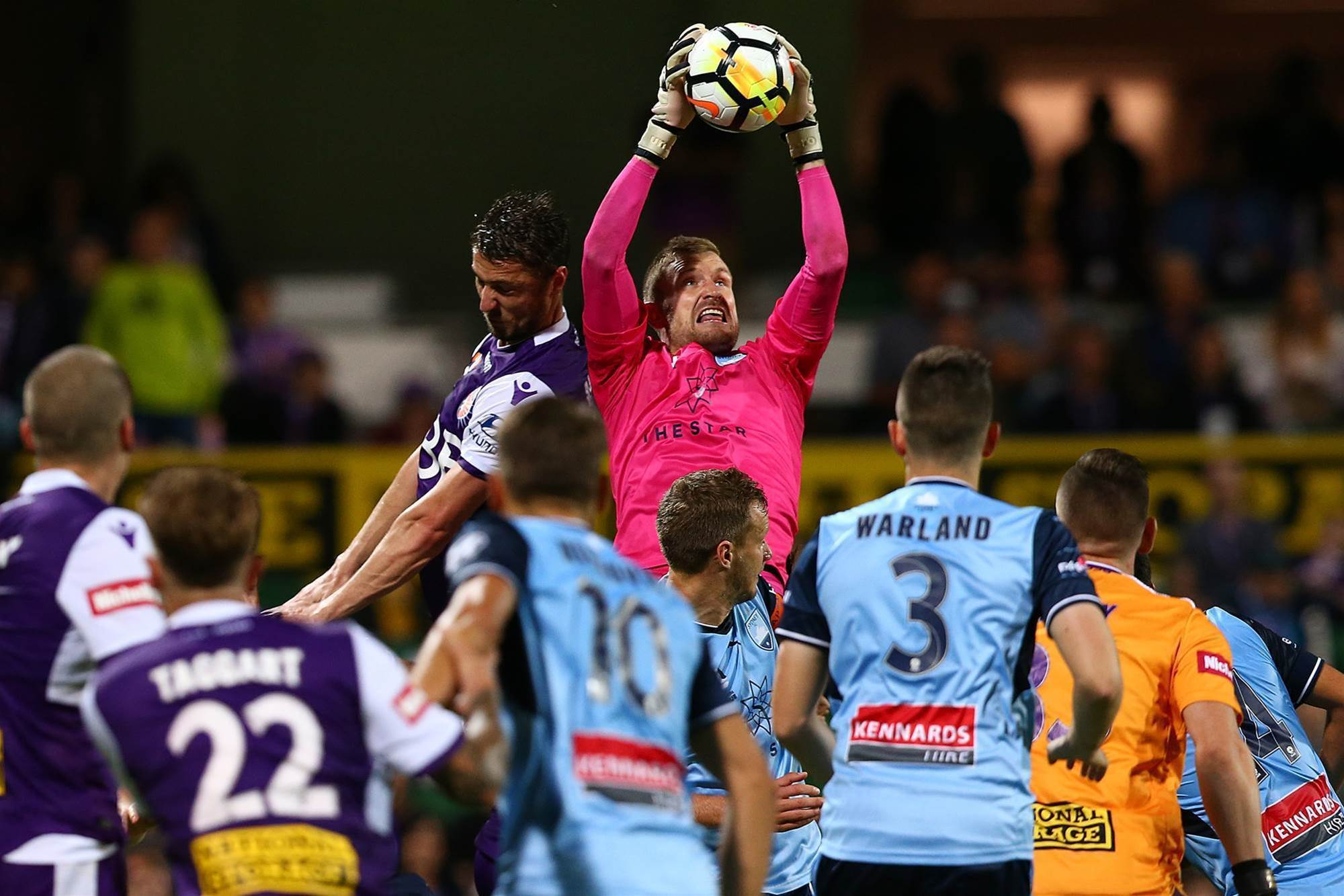 Race for the finals: A-League Round 25 pic special