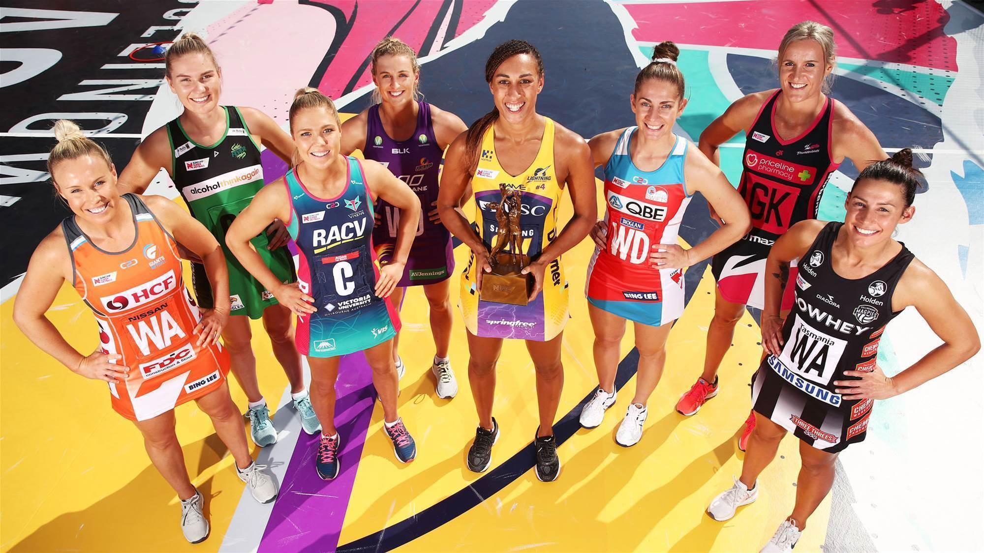 Pic special: Suncorp Super Netball launch
