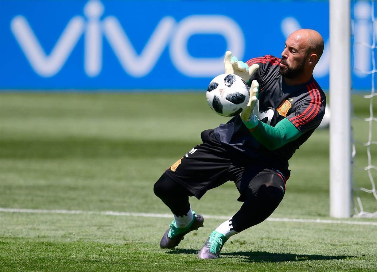 Pic special: Spain training session