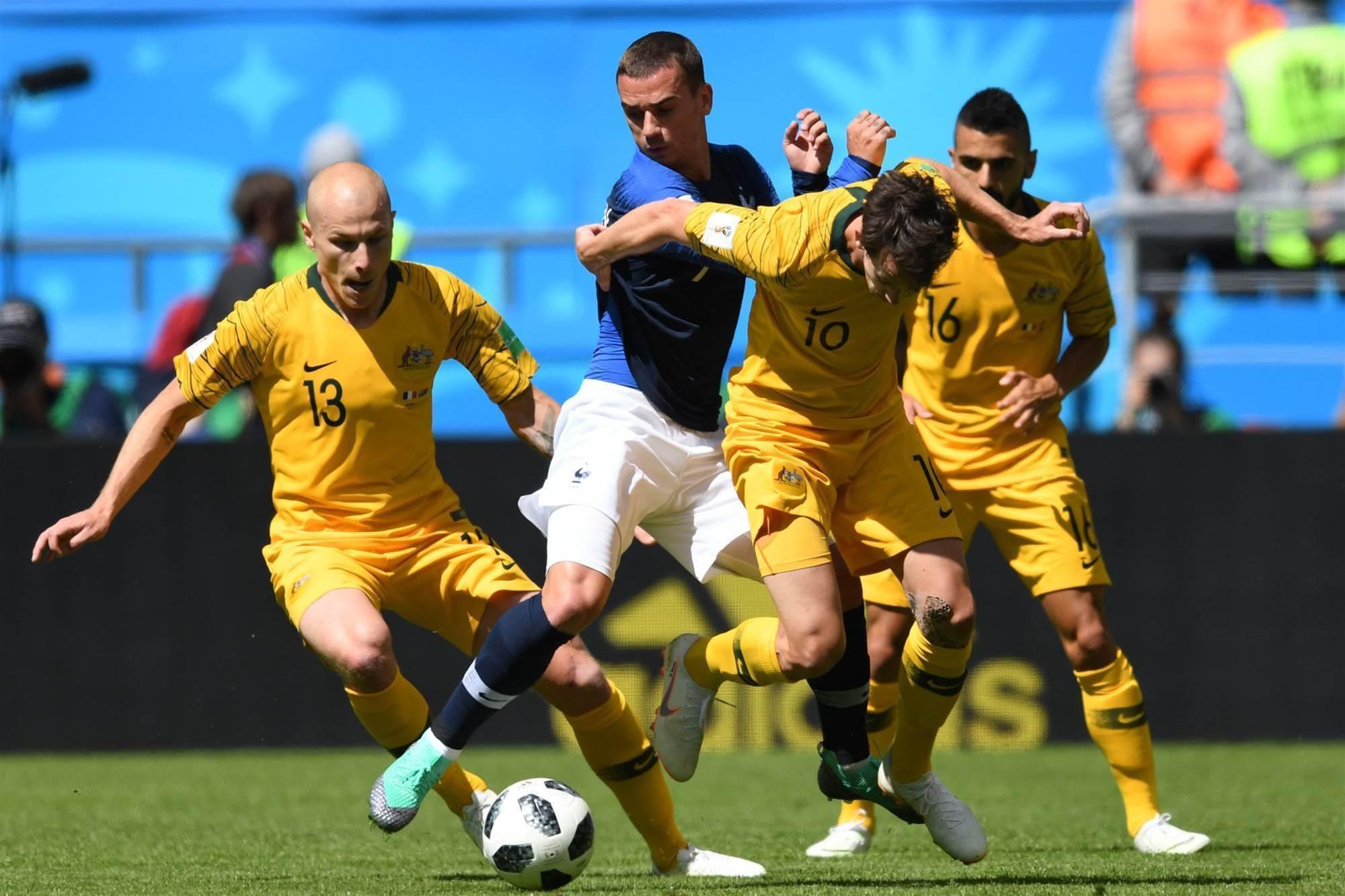 Bumper France v Socceroos pic special