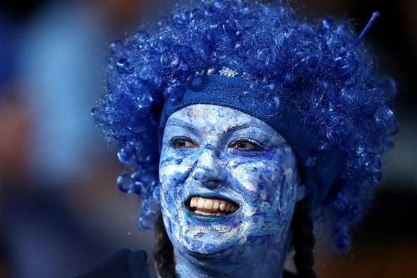 Feeling Blue at Origin Two