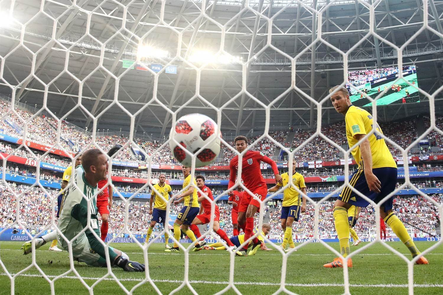 Pic special: Swede success for England!