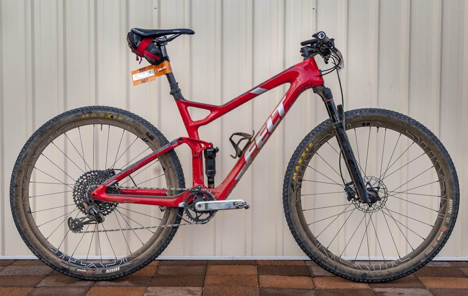 Bike Check: Grant Webster's Felt Edict