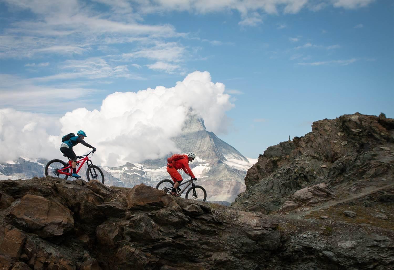Zermatt's Enduro trails