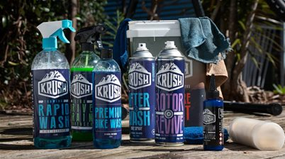 Pro level bike cleaning and detailing with Krush