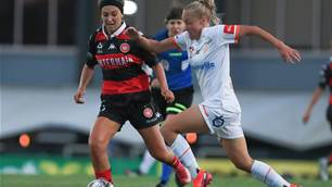 Round 8 W-League action shots