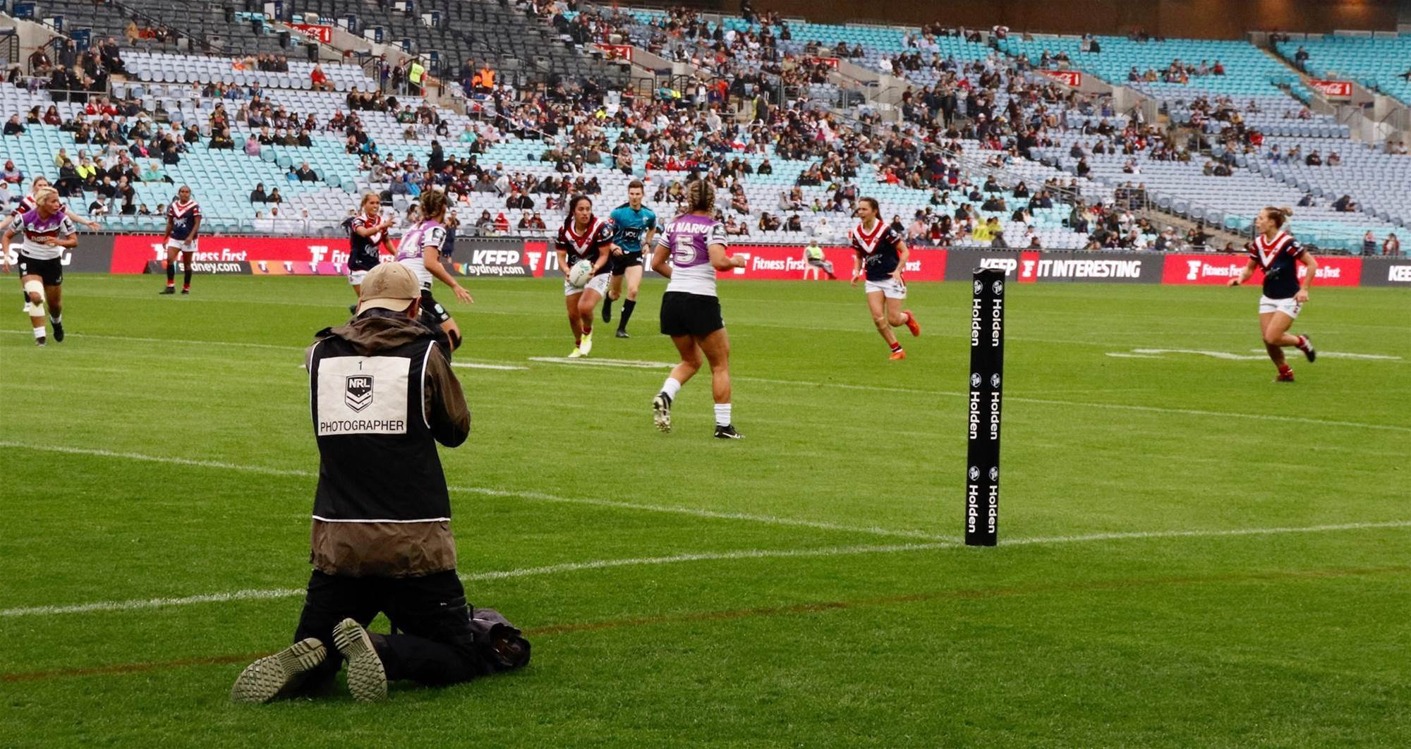 From the sidelines - Sydney Roosters v New Zealand Warriors inaugural NRLW