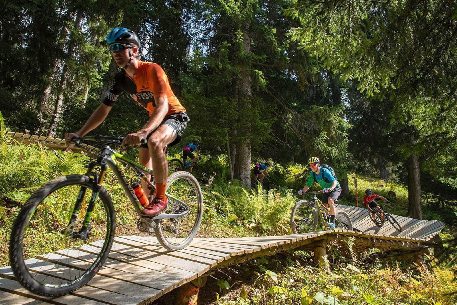 Mountain biking Lenzerheide, Switzerland
