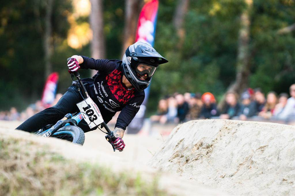 On the ground at Crankworx Rotorua