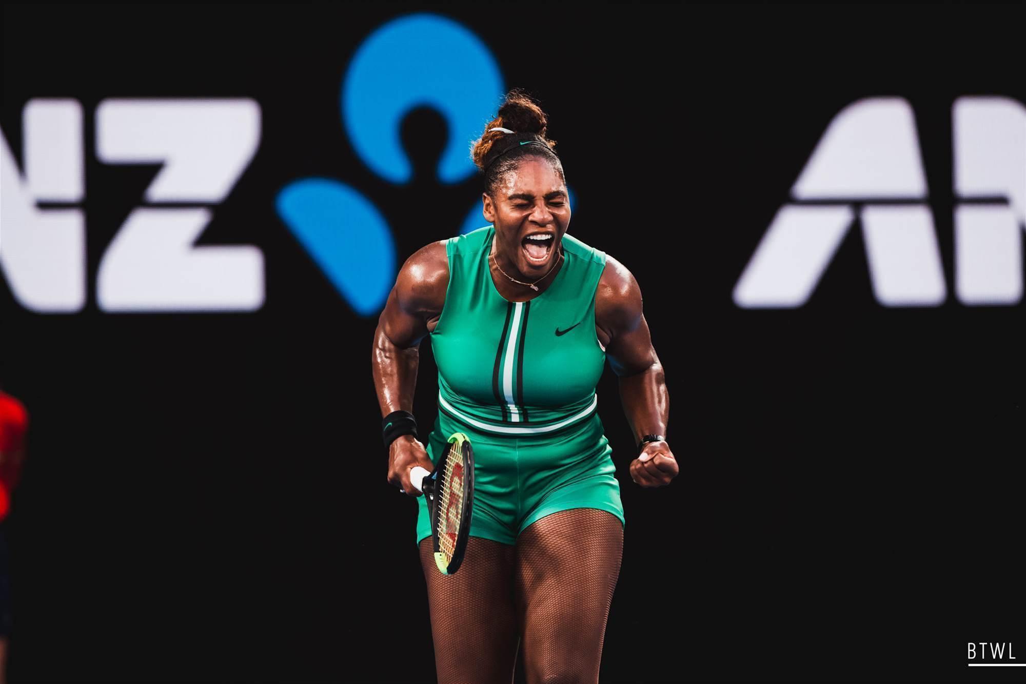Pic special: Serena Williams vs Simona Halep