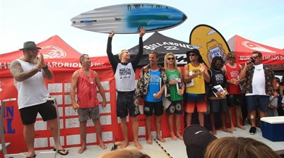 Ethan Ewing Wins Battle of the Style Icons  at the Burleigh Single Fin Festival