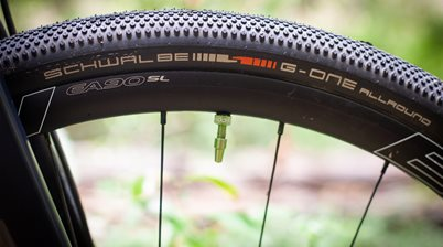 TESTED: Schwalbe G-One All-round and Cushcore CX