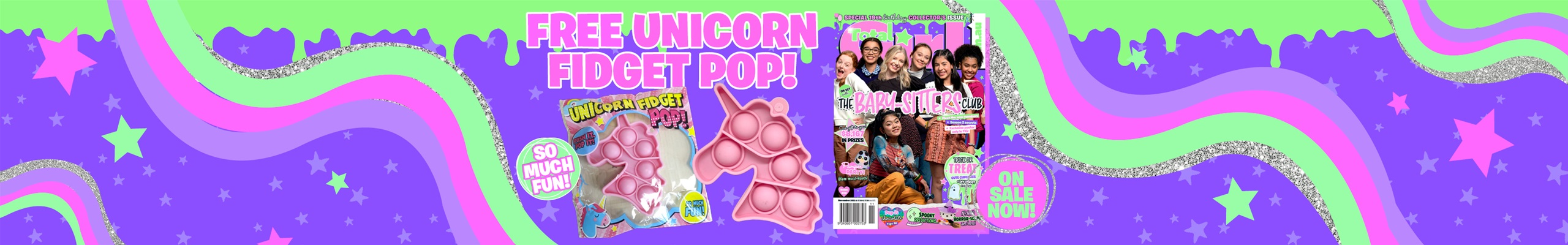 Collector's issue! Sneak Peek of the November mag (19th birthday issue)