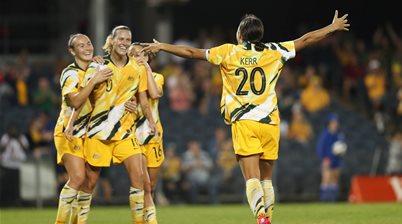 Ultimate Sideline Gallery: Matildas vs Thailand
