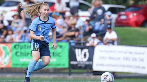 W-League Round 12's Best Photos: Sydney Derby Special