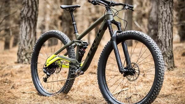 TESTED: Trek Full Stache 29 Plus trail bike