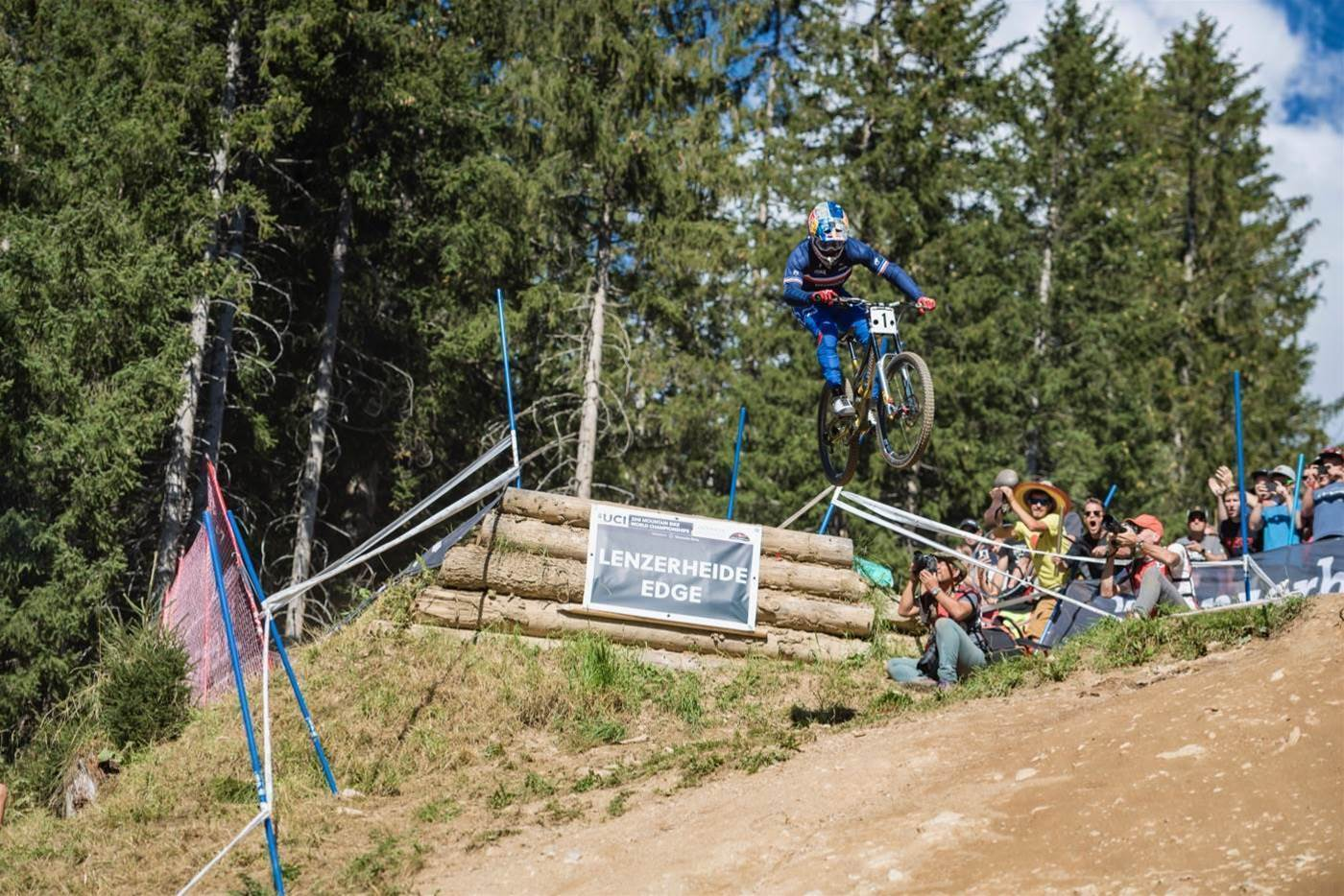 Downhill champions crowned in Lenzerheide