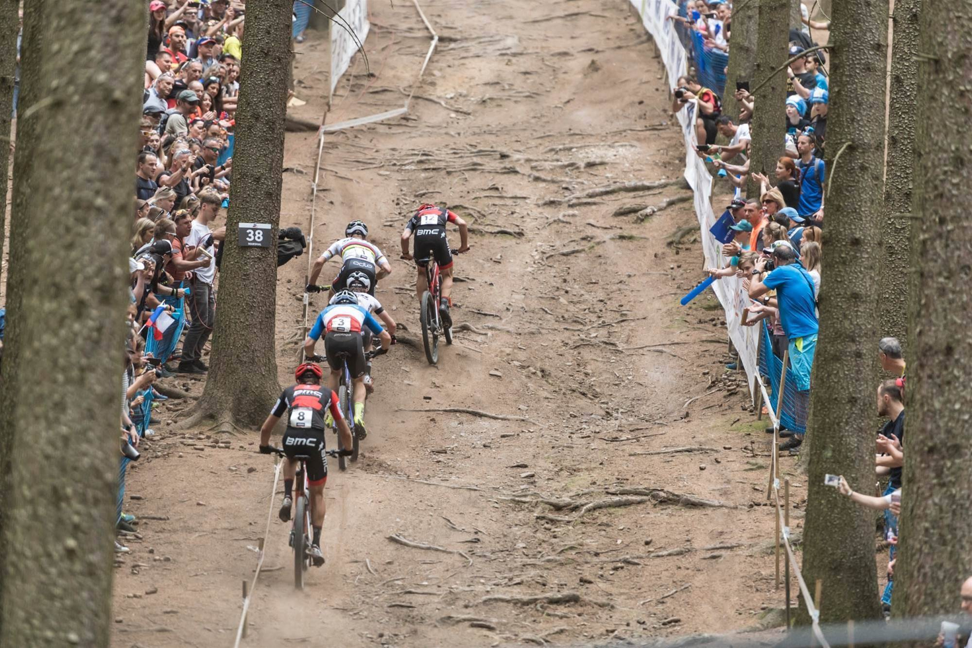 Langvad and Schurter on top in Nove Mesto