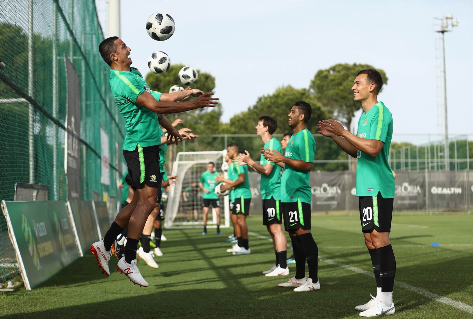 Gallery: Inside the Socceroos training camp