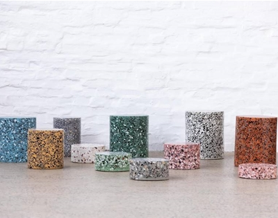 feast your eyes on some terrazzo furniture