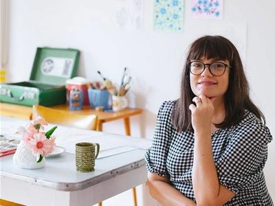 meet cass urquhart, the artist behind the 2021 frankie diary