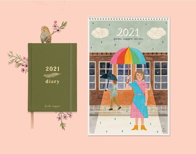 pre-order the 2021 frankie diary and calendar