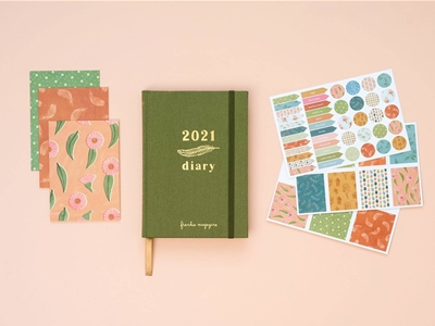 the 2021 frankie diary and calendar are selling fast!